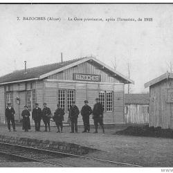 La gare provisoire