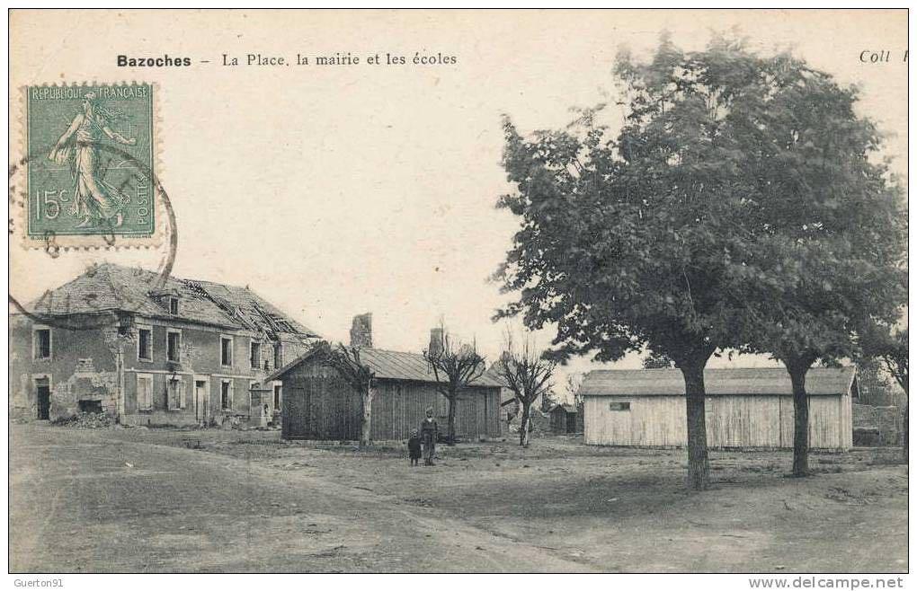 Place de la mairie après 1918