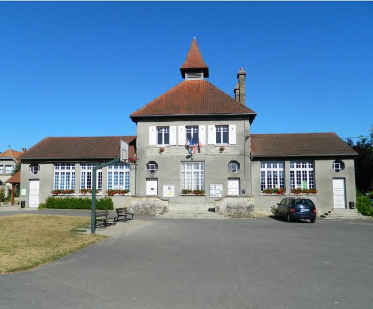 Mairie et école